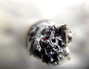 Tabak Konsum verboten